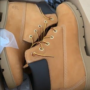 Timberland construction boots